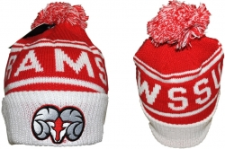 View Buying Options For The Winston Salem State S7 Cuff Beanie Cap with Ball