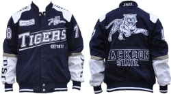 View Buying Options For The Jackson State S9 Mens NASCAR Racing Twill Jacket