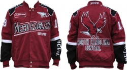 View Buying Options For The North Carolina Central S9 Mens NASCAR Racing Twill Jacket