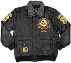 View Buying Options For The Buffalo Soldiers S4 Mens Leather Bomber Jacket