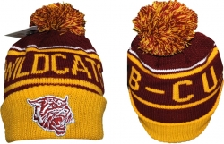 View Buying Options For The Bethune-Cookman S7 Cuff Beanie Cap with Ball