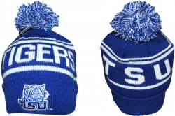 View Buying Options For The Tennessee State S7 Cuff Beanie Cap with Ball