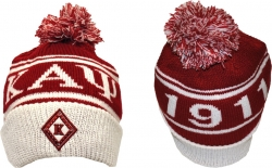 View Buying Options For The Kappa Alpha Psi Divine 9 S8 Cuff Beanie Cap with Ball