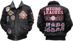 View Buying Options For The Negro League Baseball Museum S3 Mens Leather Jacket