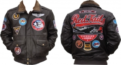 View Buying Options For The Tuskegee Airmen S3 Mens Leather Jacket