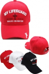 View Buying Options For The My Lifeguard Walks On Water Mens Cap