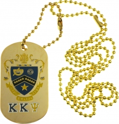 View Buying Options For The Kappa Kappa Psi Double Sided Dog Tag