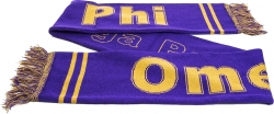View Buying Options For The Omega Psi Phi Fraternity Knit Scarf