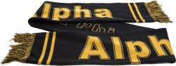 View Buying Options For The Alpha Phi Alpha Fraternity Knit Scarf