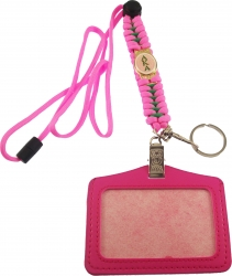 View Buying Options For The Alpha Kappa Alpha Paracord Survival Lanyard w/Badge Holder