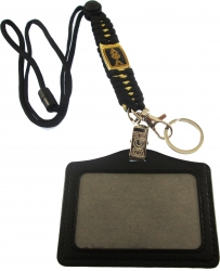 View Buying Options For The Alpha Phi Alpha Paracord Survival Lanyard w/Badge Holder