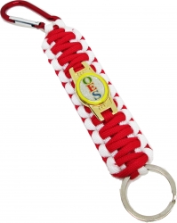 View Buying Options For The Eastern Star Paracord Survival Key Chain w/Carabiner/Split Hook