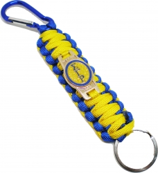 View Buying Options For The Sigma Gamma Rho Paracord Survival Key Chain w/Carabiner/Split Hook