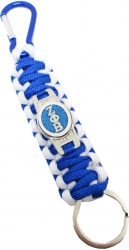 View Buying Options For The Zeta Phi Beta Paracord Survival Key Chain w/Carabiner/Split Hook