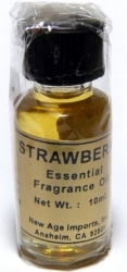 View Buying Options For The New Age Strawberry Essential Fragrance Oil [Pre-Pack]
