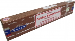 View Buying Options For The Satya Sai Baba Golden Sandalwood Incense Sticks [Pre-Pack]