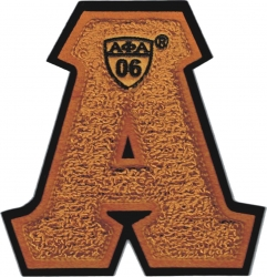 View Buying Options For The Alpha Phi Alpha Letter Shield Chenille Sew-On Patch