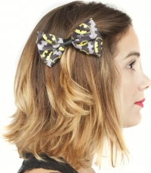 View Buying Options For The Batman Logo Hair Bow