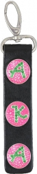 View Buying Options For The Alpha Kappa Alpha 3 Button Leather FOB Key Chain