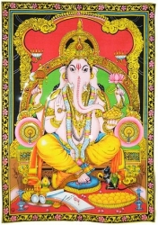 View Buying Options For The Ganesh Cloth Tapestry