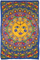View Buying Options For The Multi-Color Sun Twin Size Bedspread Cloth Tapestry