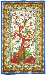 View Buying Options For The Tree of Life Twin Size Bedspread Cloth Tapestry