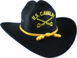 View Buying Options For The U.S. Cavalry Patch Braid Felt Cowboy Western Mens Hat