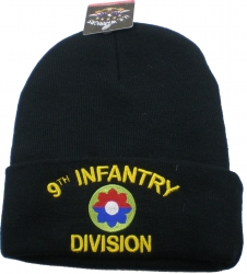 View Buying Options For The 9th Infantry Division Cuff Beanie Skull Cap