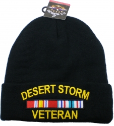 View Buying Options For The Desert Storm Veteran Ribbon Cuff Beanie Skull Cap