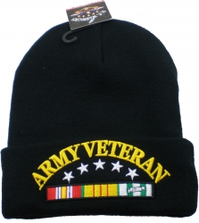 View Buying Options For The Army Vietnam Veteran Ribbon Cuff Beanie Skull Cap