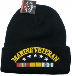 View Buying Options For The Marine Vietnam Veteran Ribbon Cuff Beanie Skull Cap