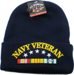 View Buying Options For The Navy Vietnam Veteran Ribbon Cuff Beanie Skull Cap