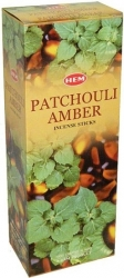 View Buying Options For The HEM Patchouli-Amber Incense Sticks [Pre-Pack]