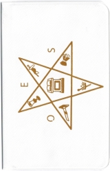 View Buying Options For The Eastern Star Symbol Dues Card Holder [Pre-Pack]