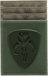 View Buying Options For The Star Wars Episode 4 Mandalorian Tonal Badge Frontpocket Wallet