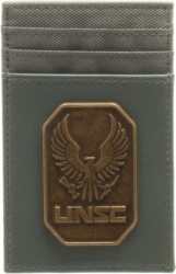 View Buying Options For The Halo Brass Badge Frontpocket Wallet