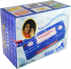 View Buying Options For The Satya Sai Baba Classic Nag Champa Agarbatti Incense Sticks [Pre-Pack]