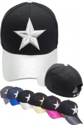 View Buying Options For The Star Cotton Glitter Ladies Cap