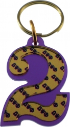 View Buying Options For The Omega Psi Phi Color Mirror Line #2 Keychain
