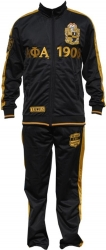 View Buying Options For The Big Boy Alpha Phi Alpha Divine 9 S3 Mens Jogging Suit Set