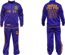 View Buying Options For The Big Boy Omega Psi Phi Divine 9 S3 Mens Jogging Suit Set