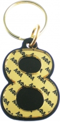 View Buying Options For The Alpha Phi Alpha Color Mirror Line #8 Keychain