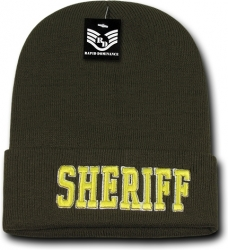 View Buying Options For The RapDom Sheriff Pub/Safety Long Cuff Beanie Cap