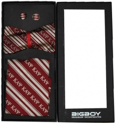 View Buying Options For The Kappa Alpha Psi Divine 9 Untied Bowtie Set