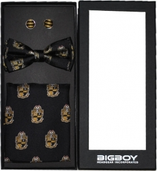 View Buying Options For The Alpha Phi Alpha Divine 9 S2 Pretied Mens Bowtie Set