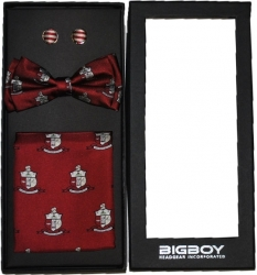 View Buying Options For The Kappa Alpha Psi Divine 9 S2 Pretied Mens Bowtie Set