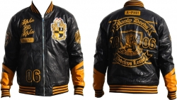 View Buying Options For The Alpha Phi Alpha Divine S2 Mens PU Leather Jacket