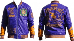 View Buying Options For The Omega Psi Phi Divine 9 S2 Mens PU Leather Jacket