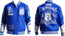 View Buying Options For The Phi Beta Sigma Divine S2 Mens PU Leather Jacket