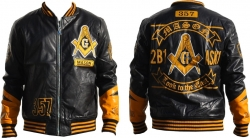 View Buying Options For The Mason Divine Mens PU Leather Jacket